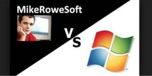 MikeRoweSoft vs Microsoft