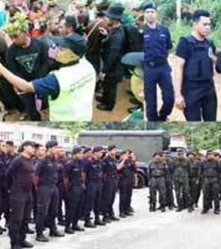 Kelantan Police Warns Those Exploiting Orang Asli Arrest Issue